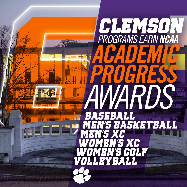 Clemson Earns School Record Six NCAA APR Awards