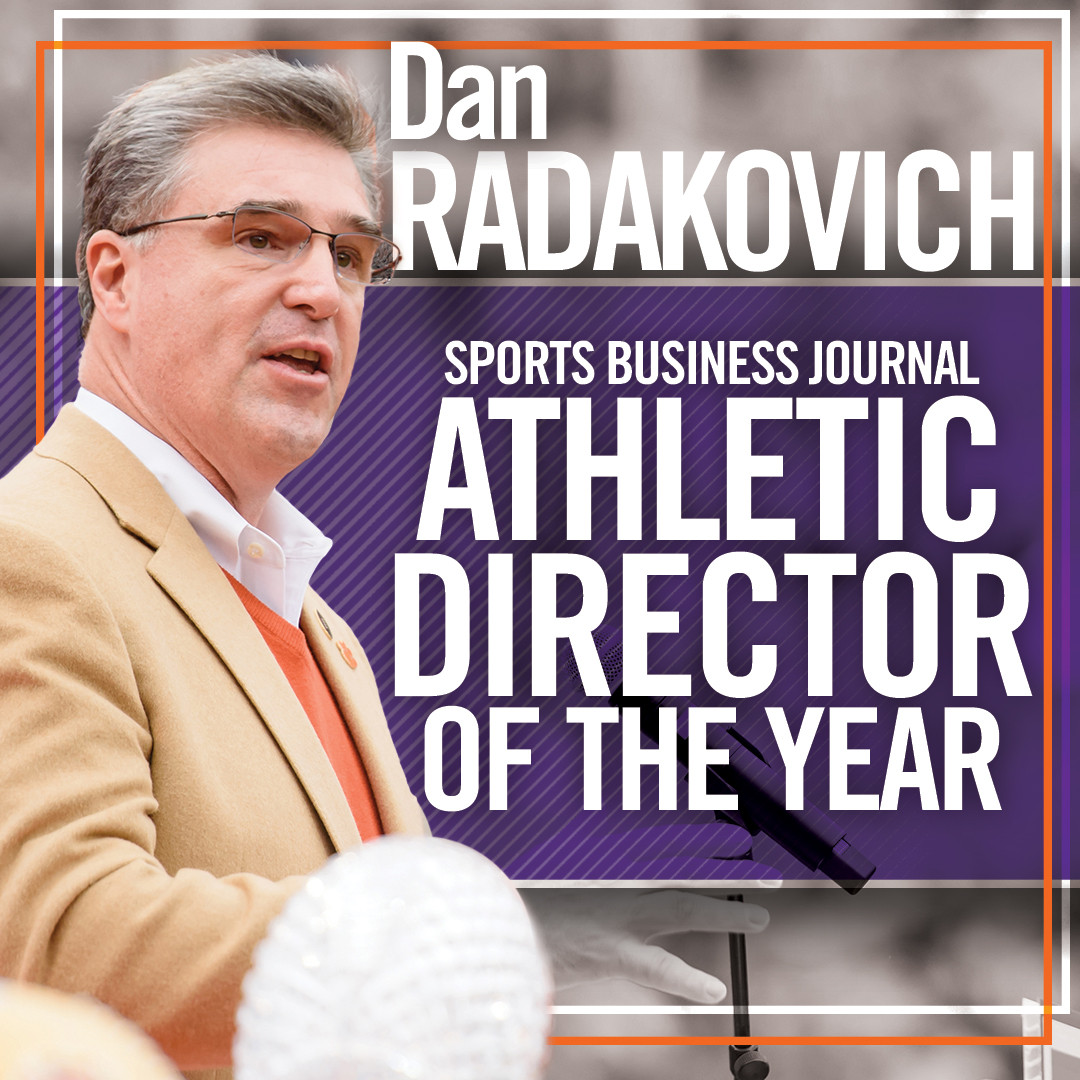Radakovich Named AD of Year