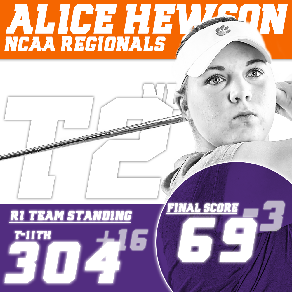 Hewson in Second Place at NCAA Regional