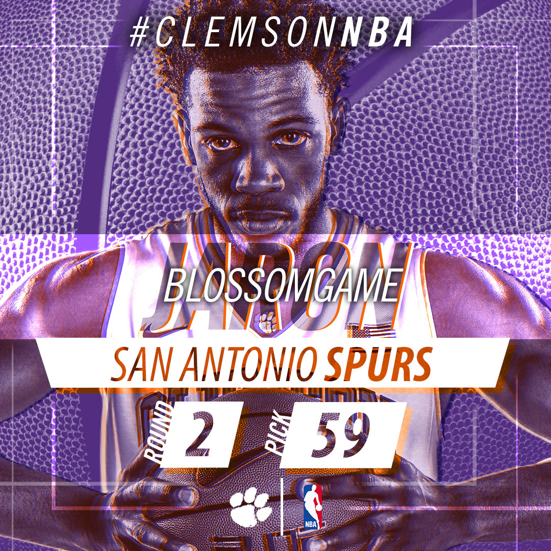 Blossomgame Selected 59th Overall in 2017 NBA Draft by San Antonio Spurs