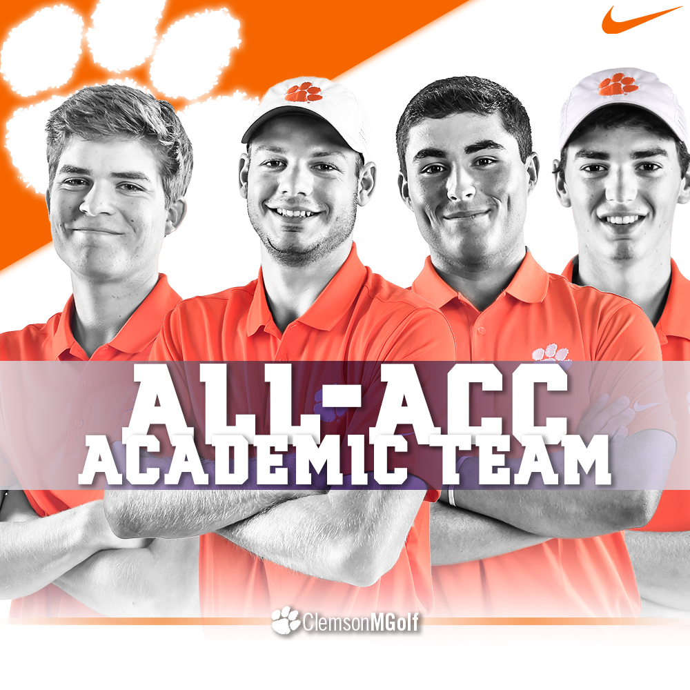 Four Tigers Named Academic All-ACC