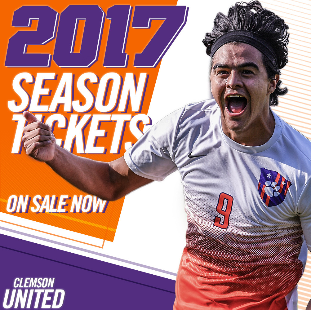 Clemson Men's Soccer Season Tickets On Sale Now