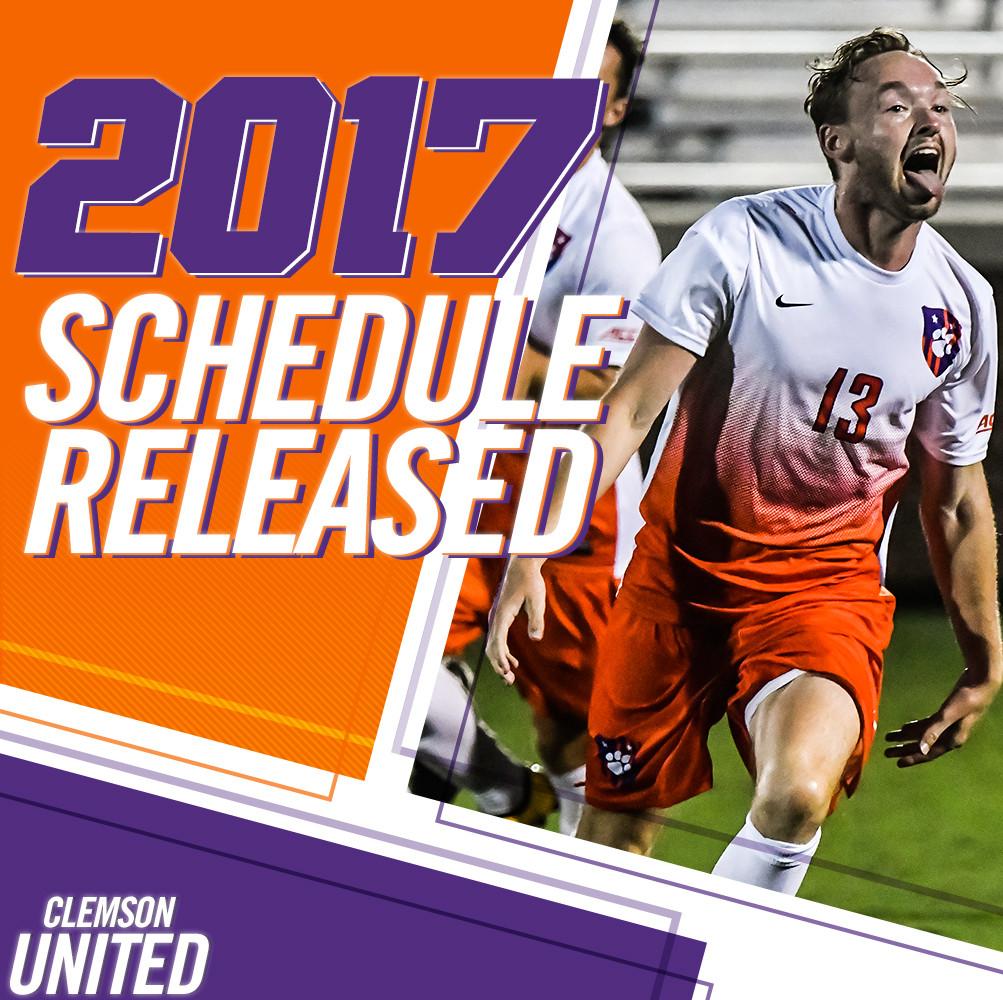 Men's Soccer Announces 2017 Schedule
