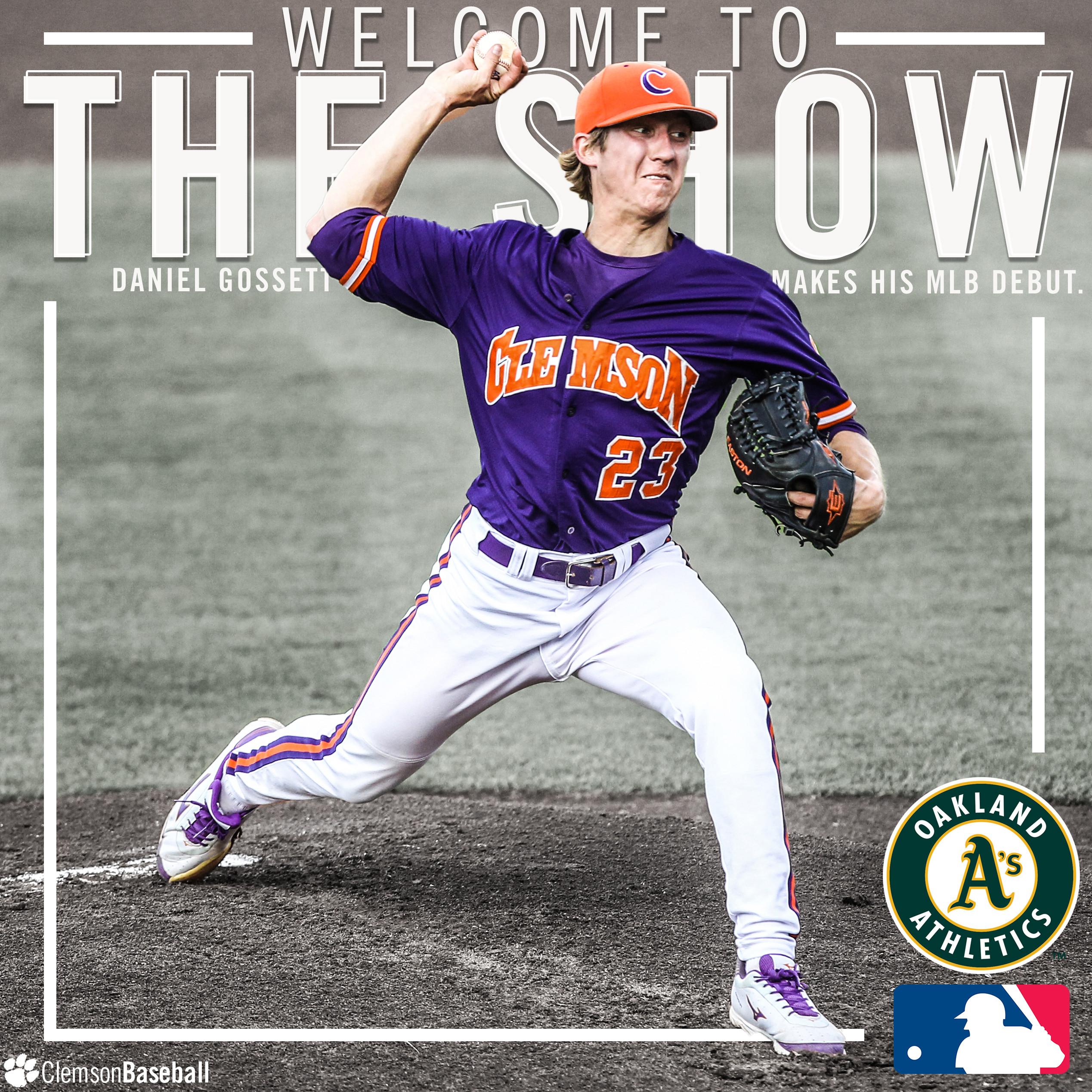 Gossett Makes MLB Debut