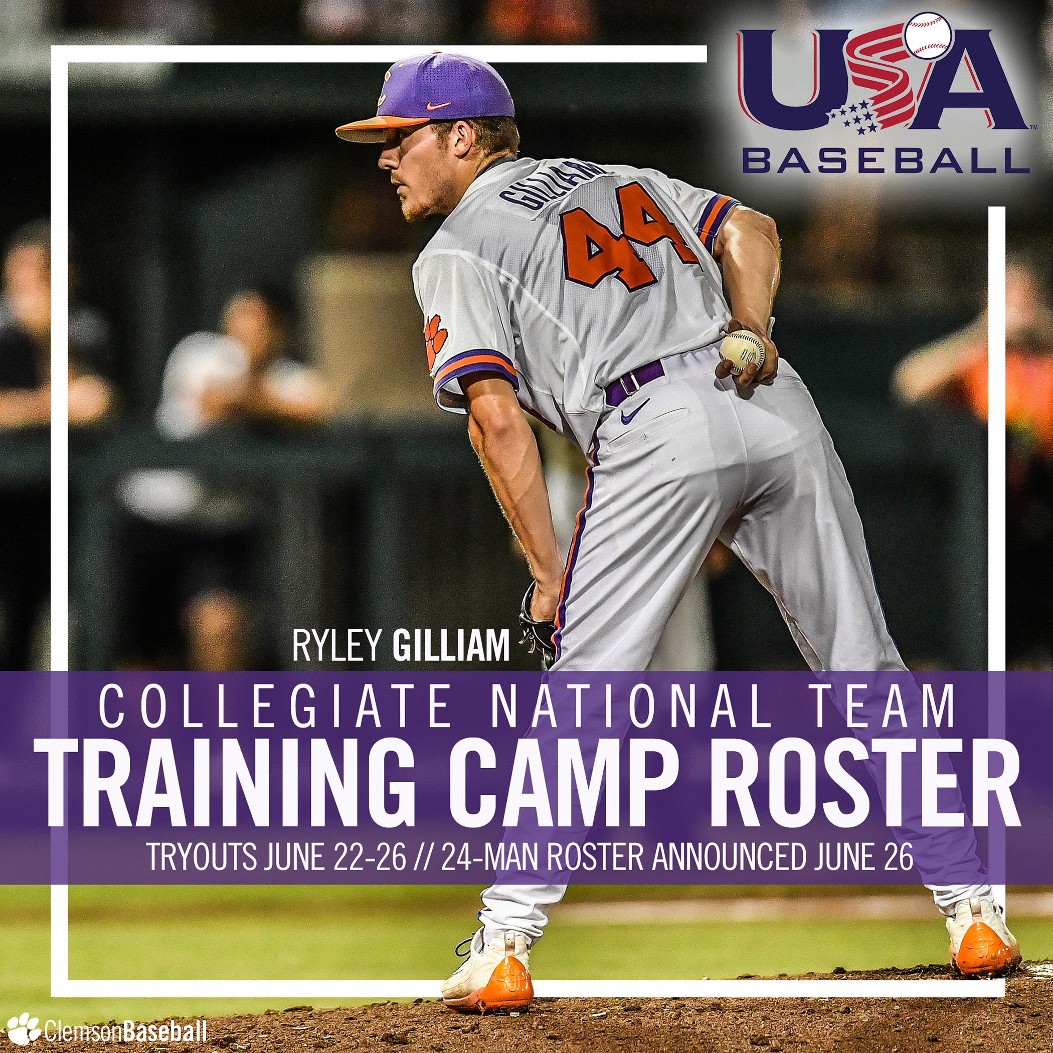 Gilliam Team USA Camp Invitee