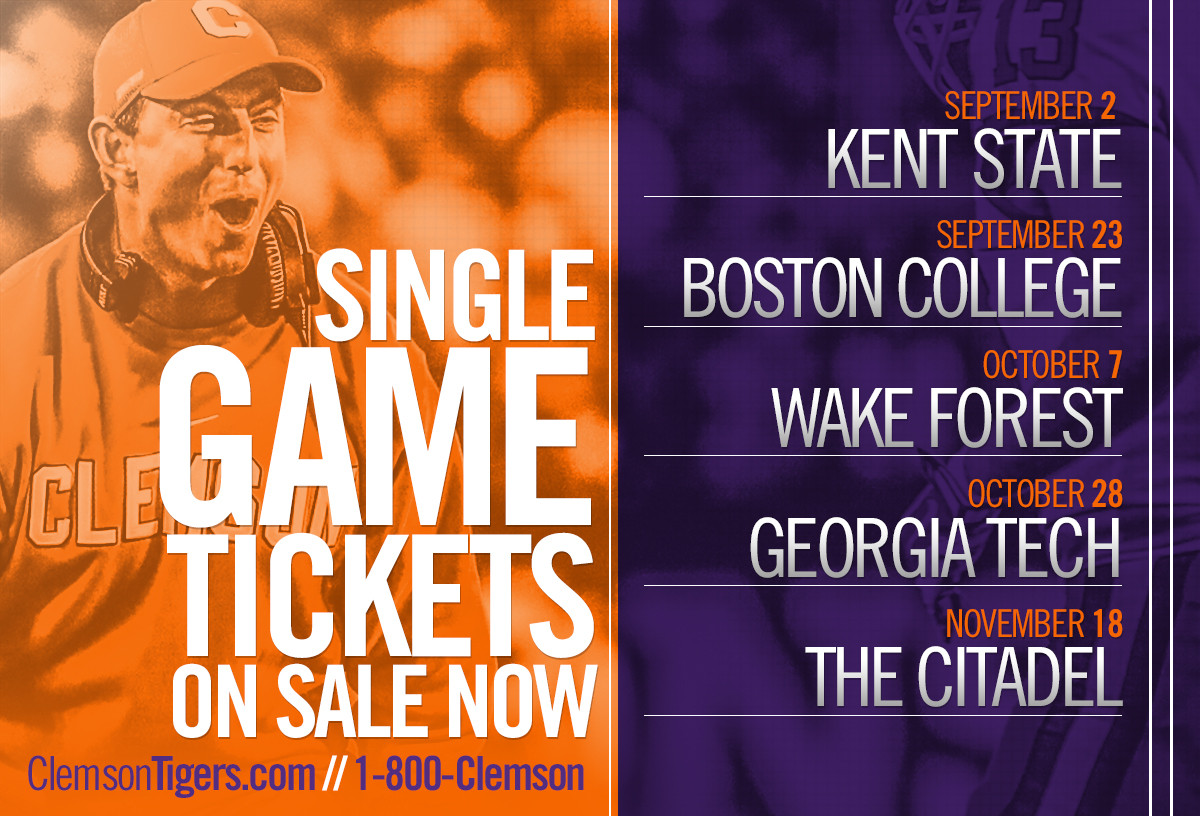 Limited Number of Football Single-Game Tickets On Sale