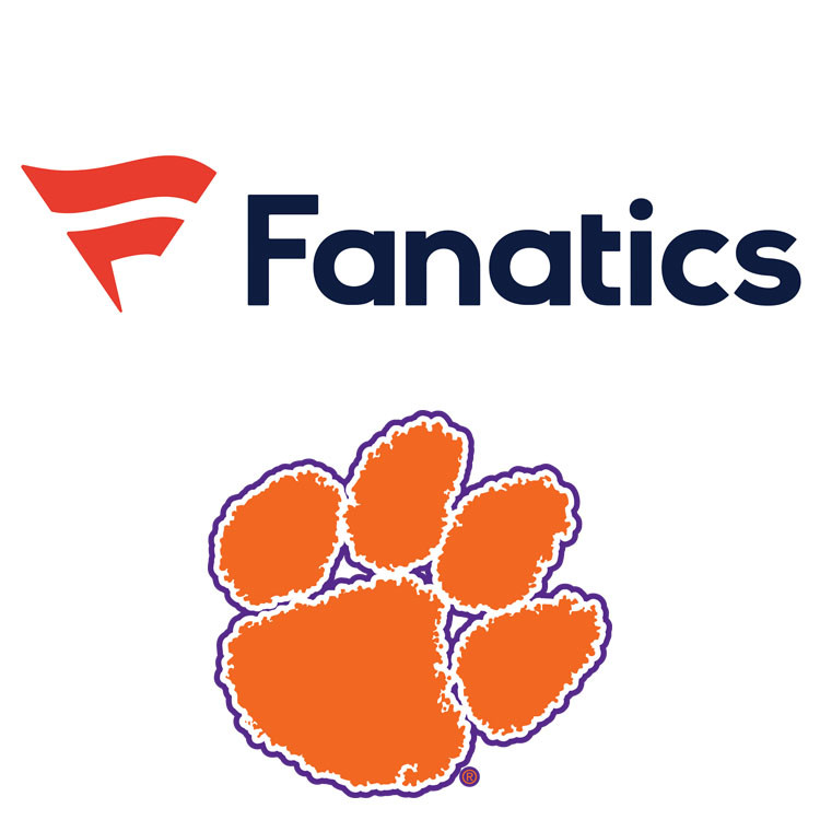 Clemson, Fanatics Expand Partnership to In-Venue Stores