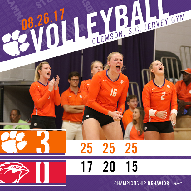 Volleyball Wins Big Orange Bash