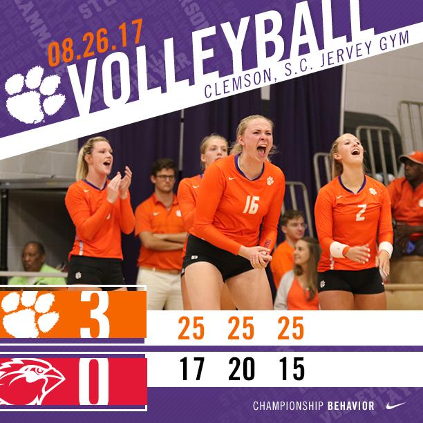 Volleyball Wins Big Orange Bash