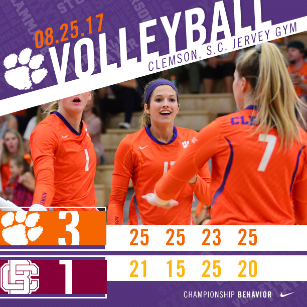 Volleyball Opens 2017 With A Win