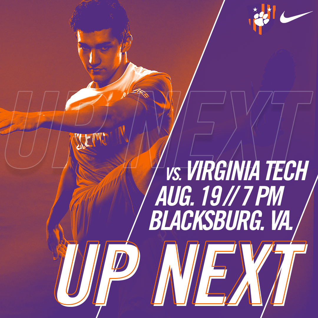 No. 5 Clemson Travels to No. 17 Virginia Tech for Final Exhibition