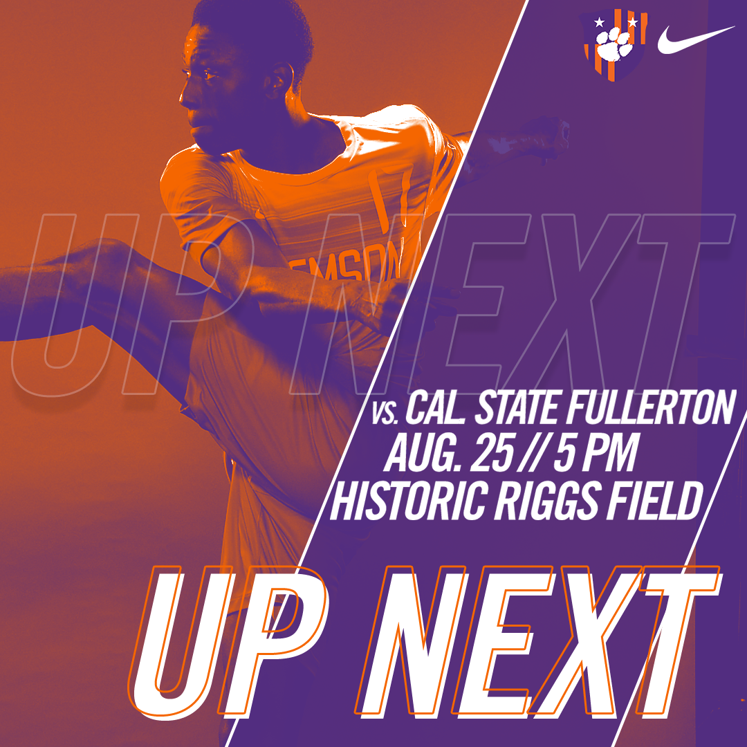 No. 5 Clemson Begins Regular Season Against Cal. State Fullerton