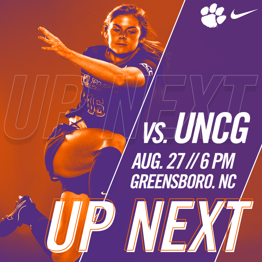 No. 13 Tigers Take to Road for Match Against UNCG