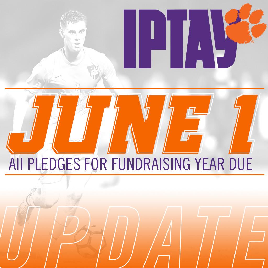 IPTAY Donation Deadline: Now June 1