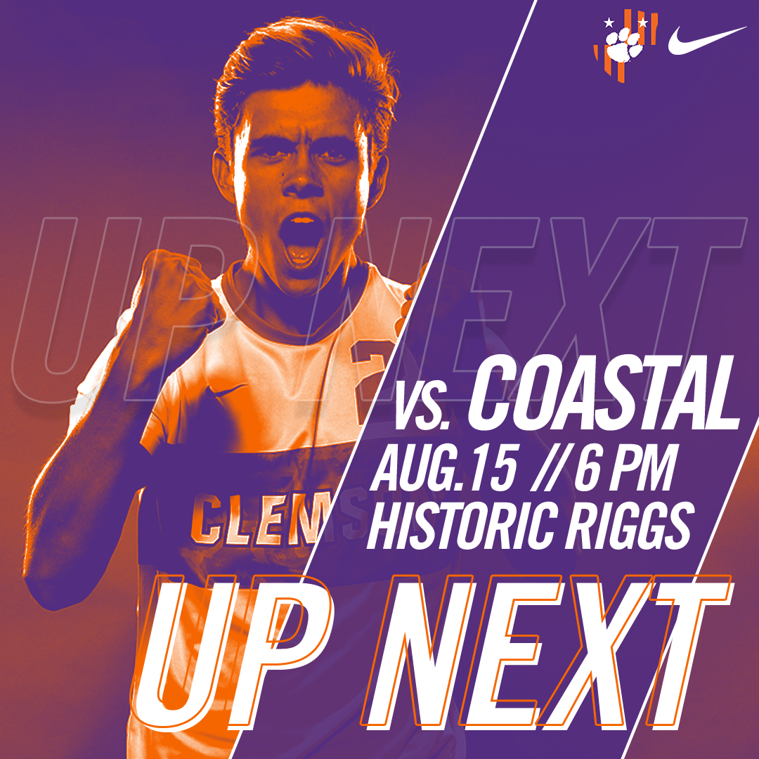 No. 5 Clemson Hosts Coastal Carolina in Second Exhibition
