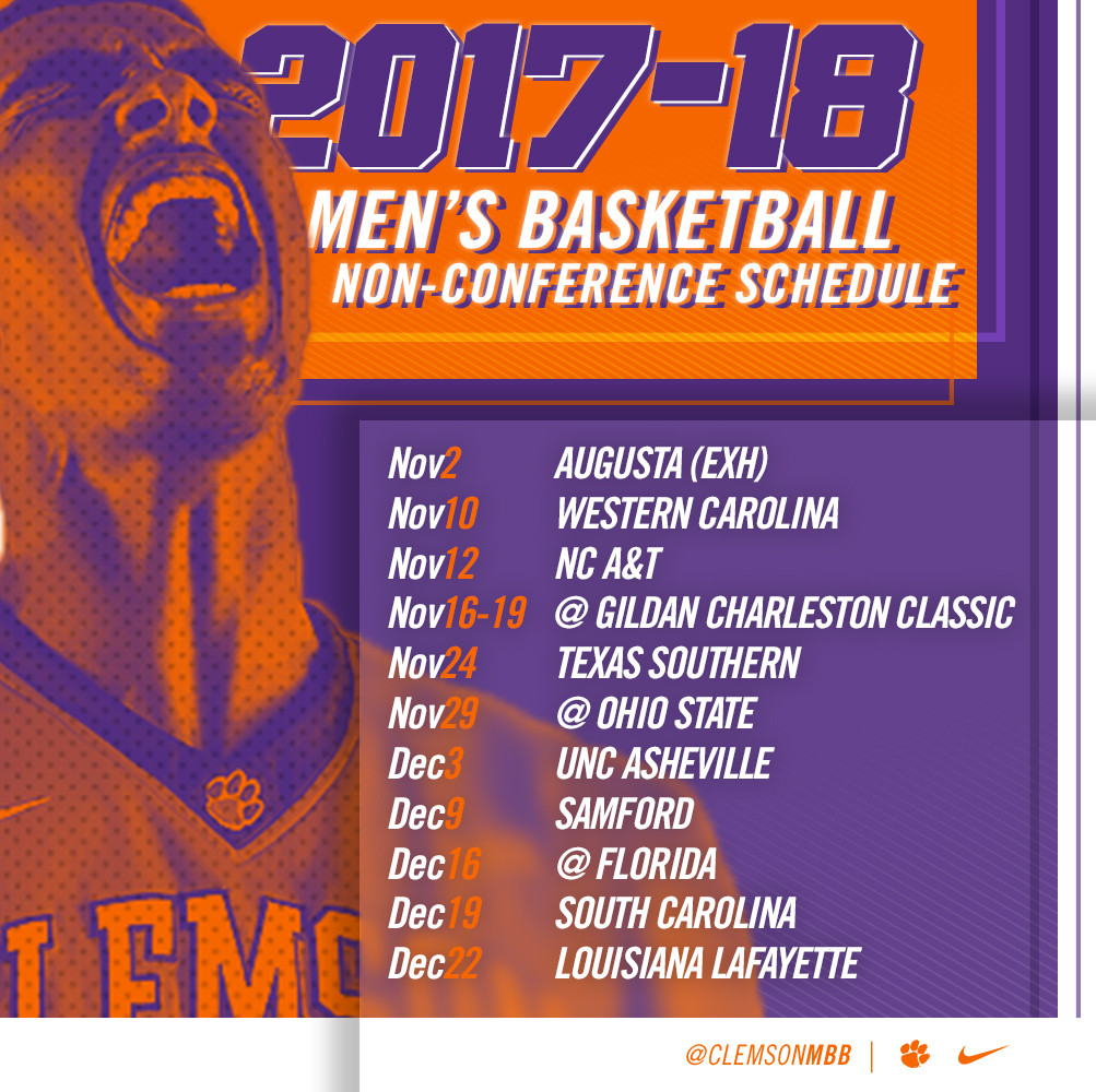 Men's Hoops Releases 2017-18 Non-Conference Schedule