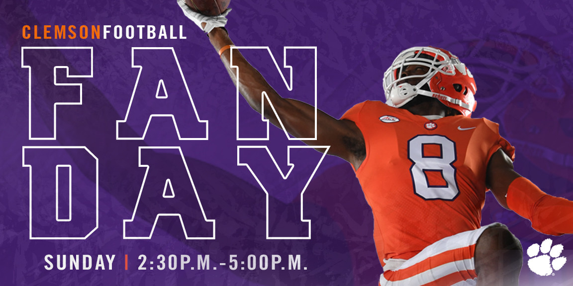 Football Fan Day Set for Sunday