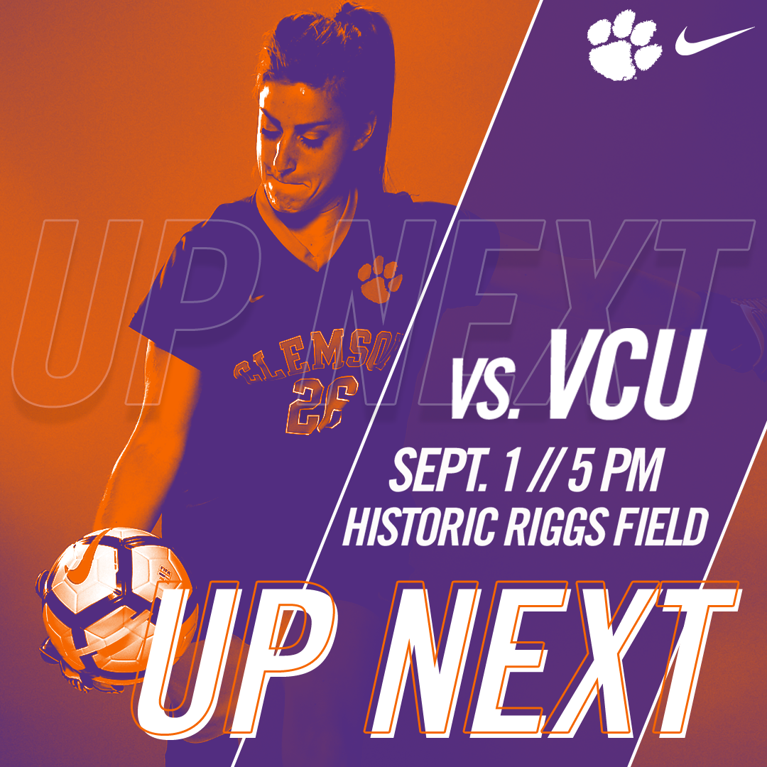 #8 Clemson Looks To Remain Undefeated In First Friday Match-Up Against VCU