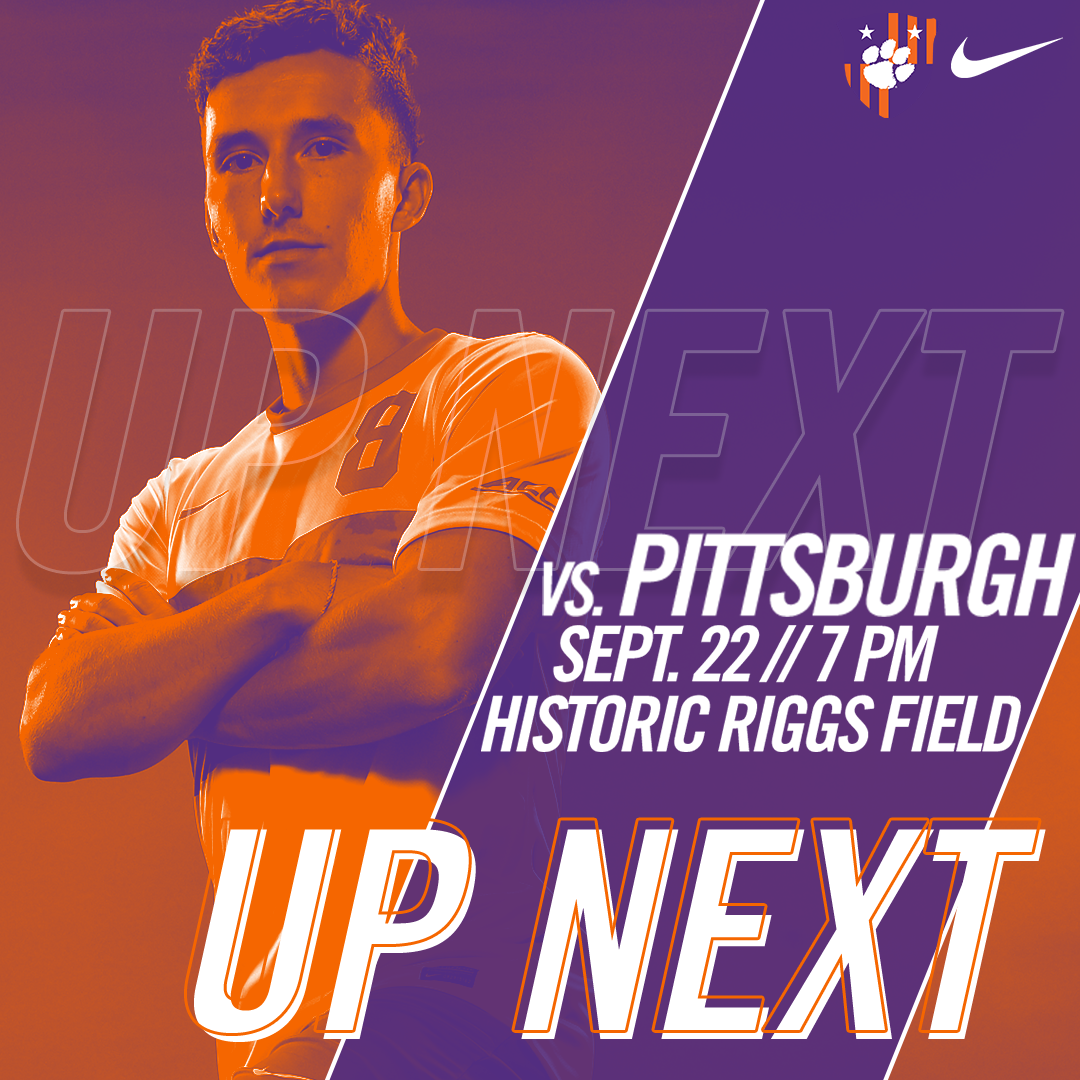 No. 8 Clemson Hosts Pittsburgh in ACC Match Friday
