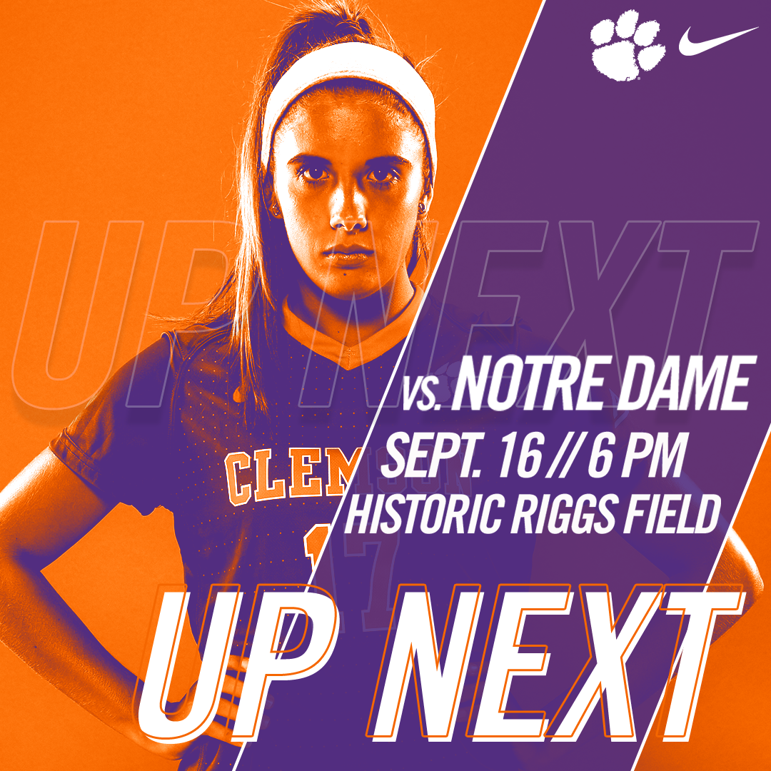 No. 11 Clemson Hosts Notre Dame in ACC Opener on Saturday