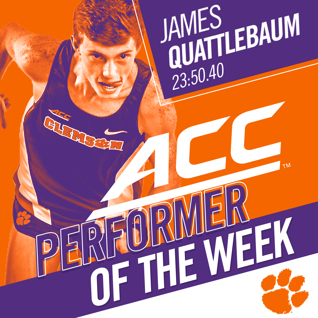 Quattlebaum, Ward Sweep ACC Weekly Honors