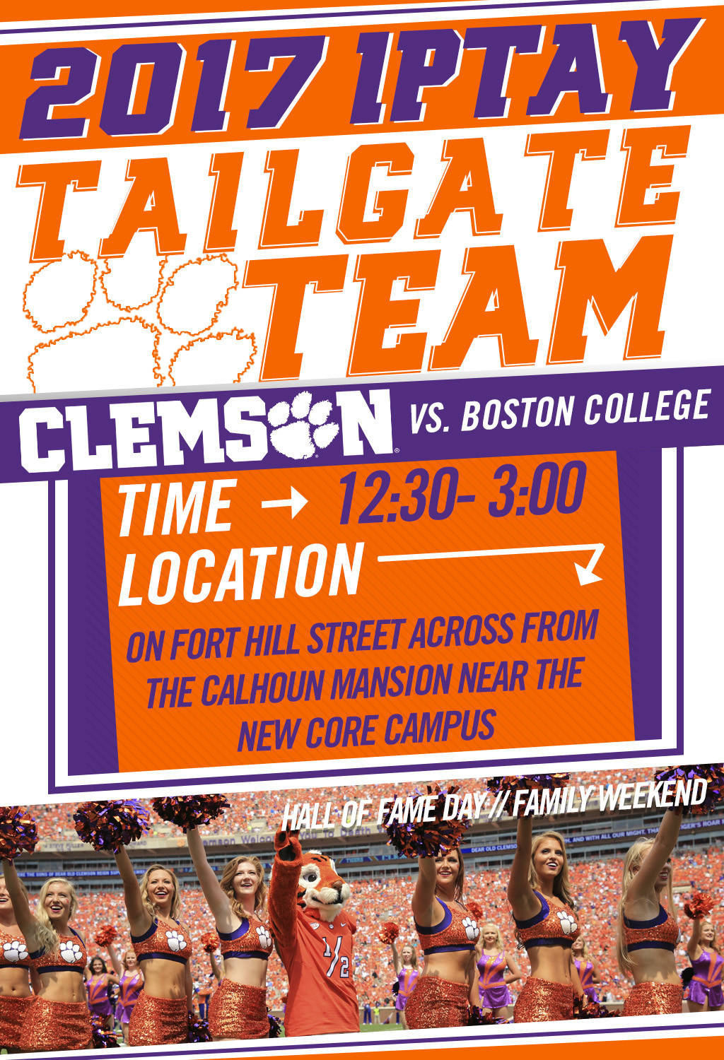 Tailgate Team Rolls Toward Core Campus For Saturday's ACC Divisional Match-up