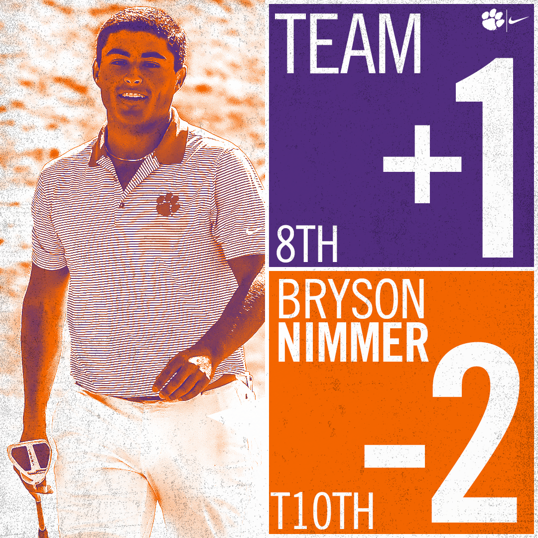 Clemson Eighth after First Round at Trinity Forest