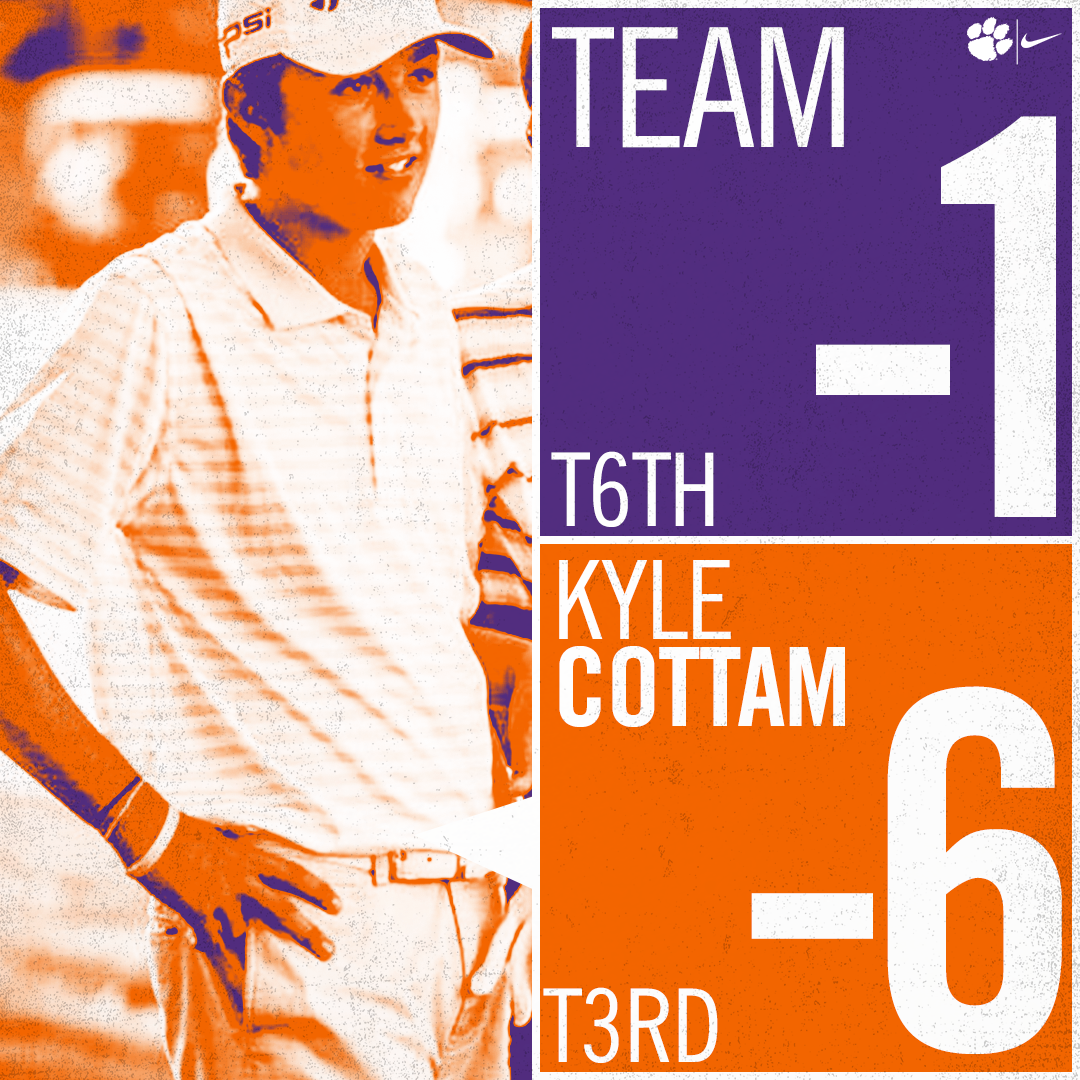 Clemson Finishes Sixth at Trinity Forest