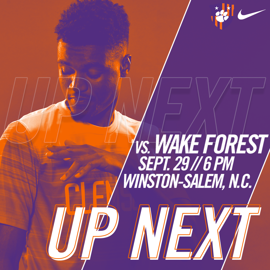 No. 6 Clemson Travels to No. 2 Wake Forest for Top-10 Matchup
