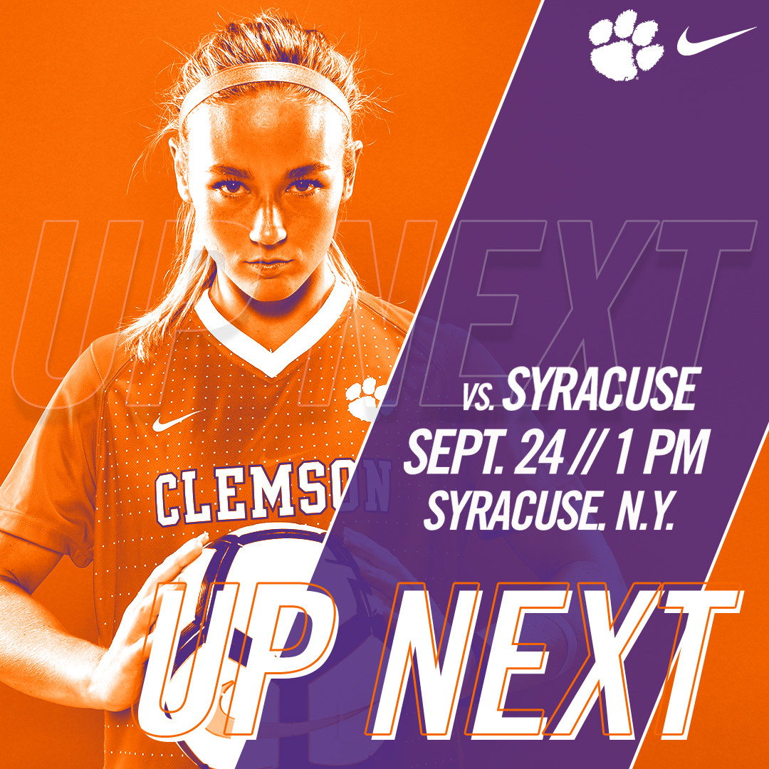 No. 19 Tigers Play Second Road ACC Match Tomorrow at Syracuse