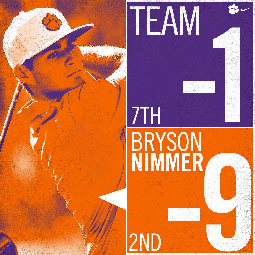 Nimmer Leads Tigers with 2nd Place at Carpet Classic
