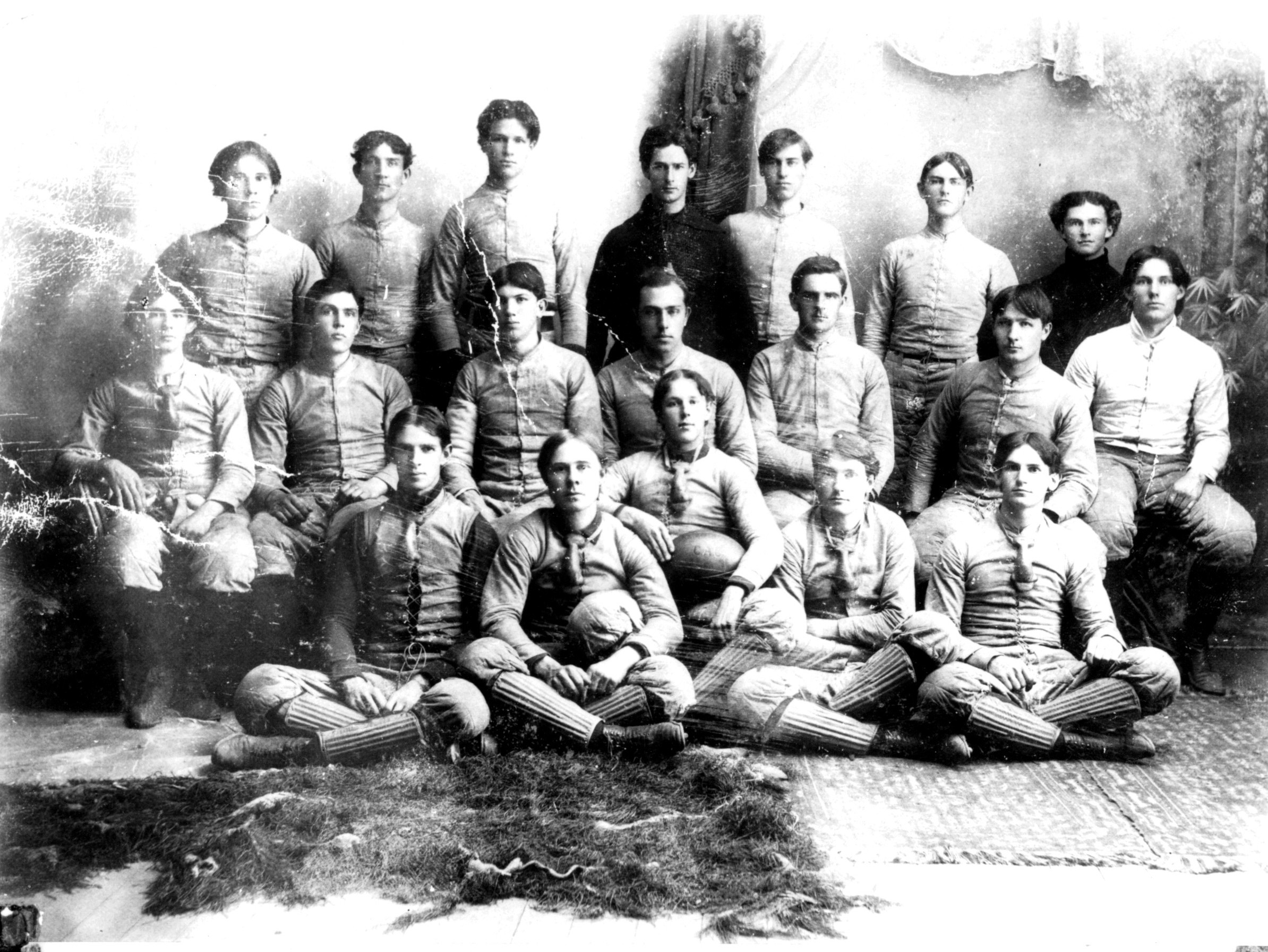 1896, First Team, First Game