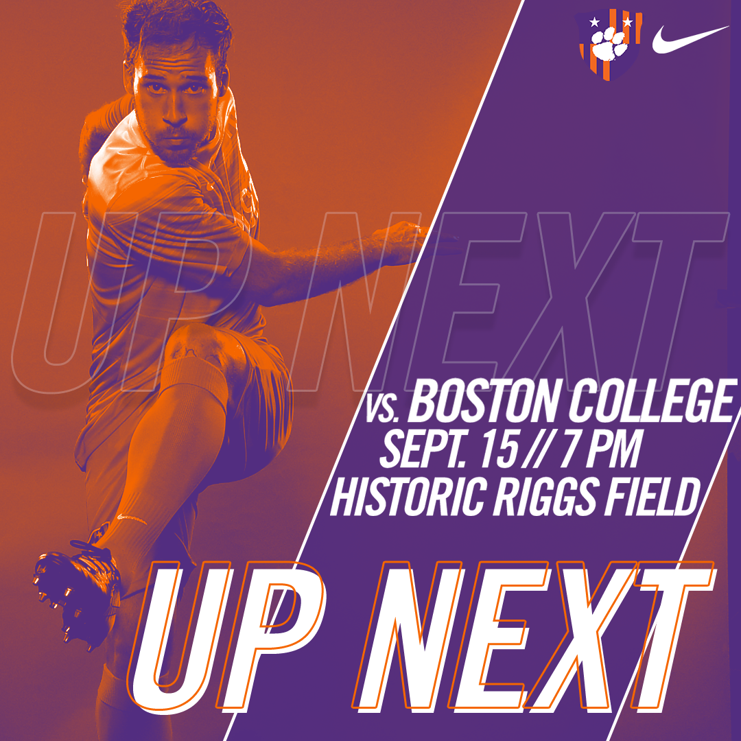No. 10 Clemson Hosts Boston College on Friday