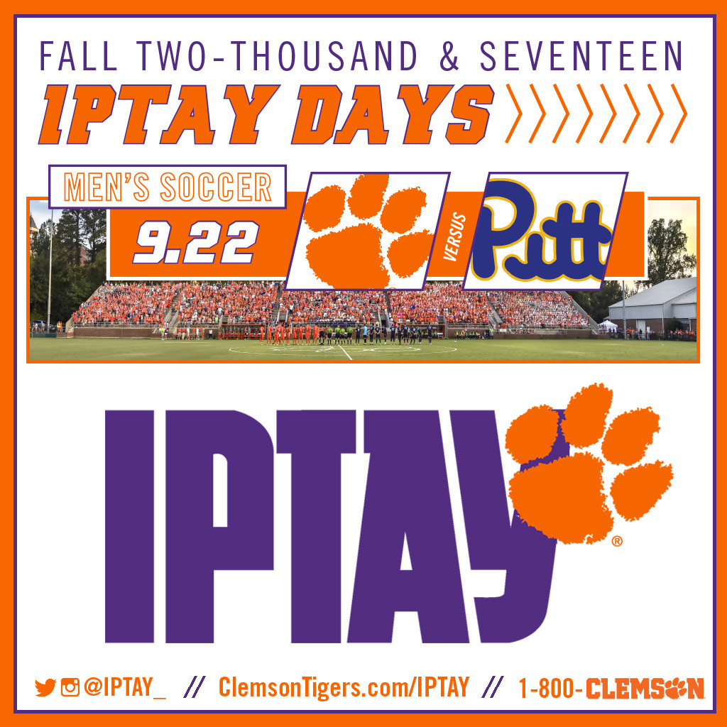 IPTAY Day at Men's Soccer Set for This Friday
