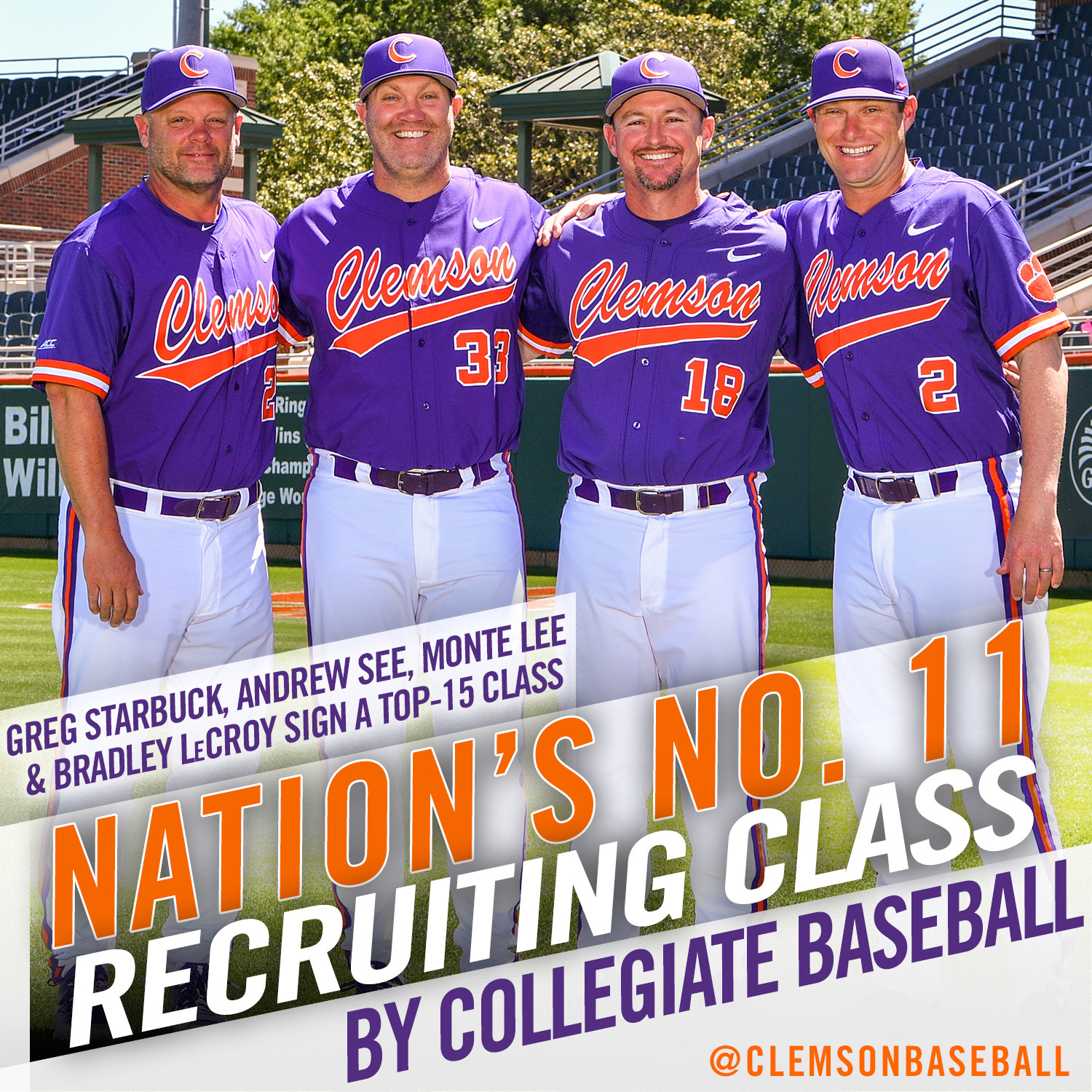 Recruiting Class Rated No. 11