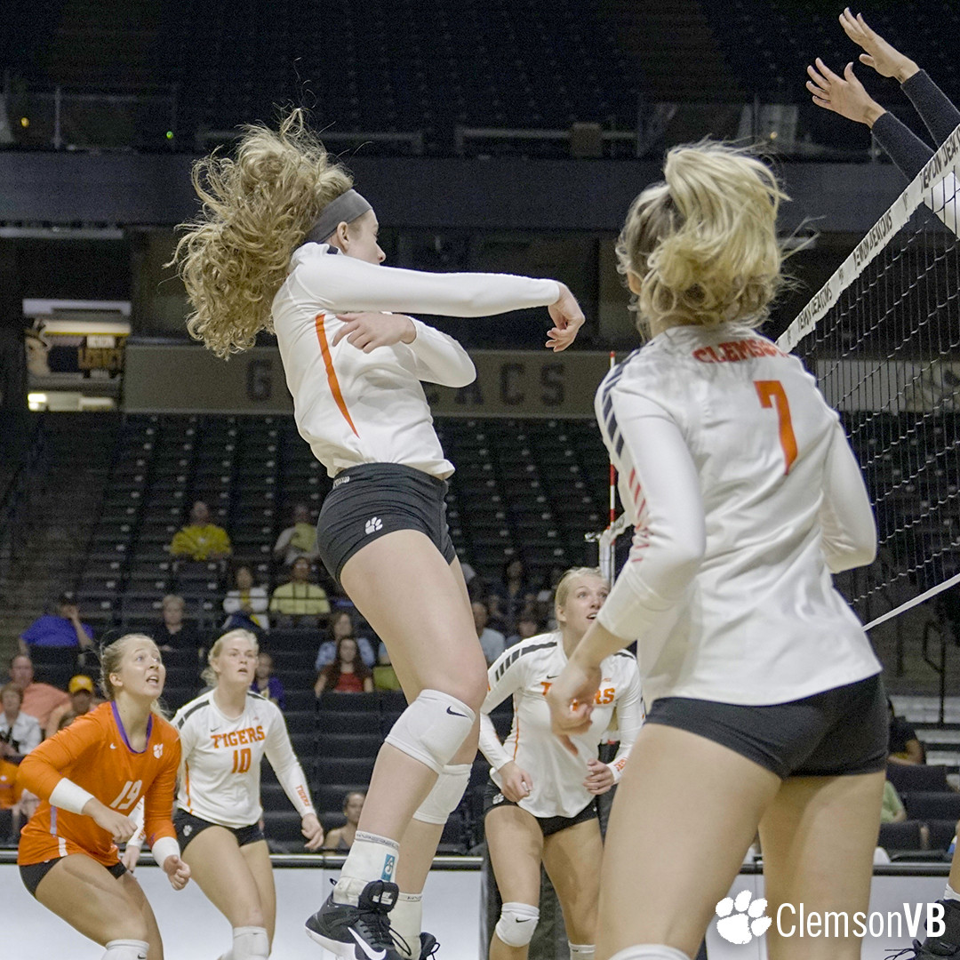 Volleyball Falls in Close Match at Wake