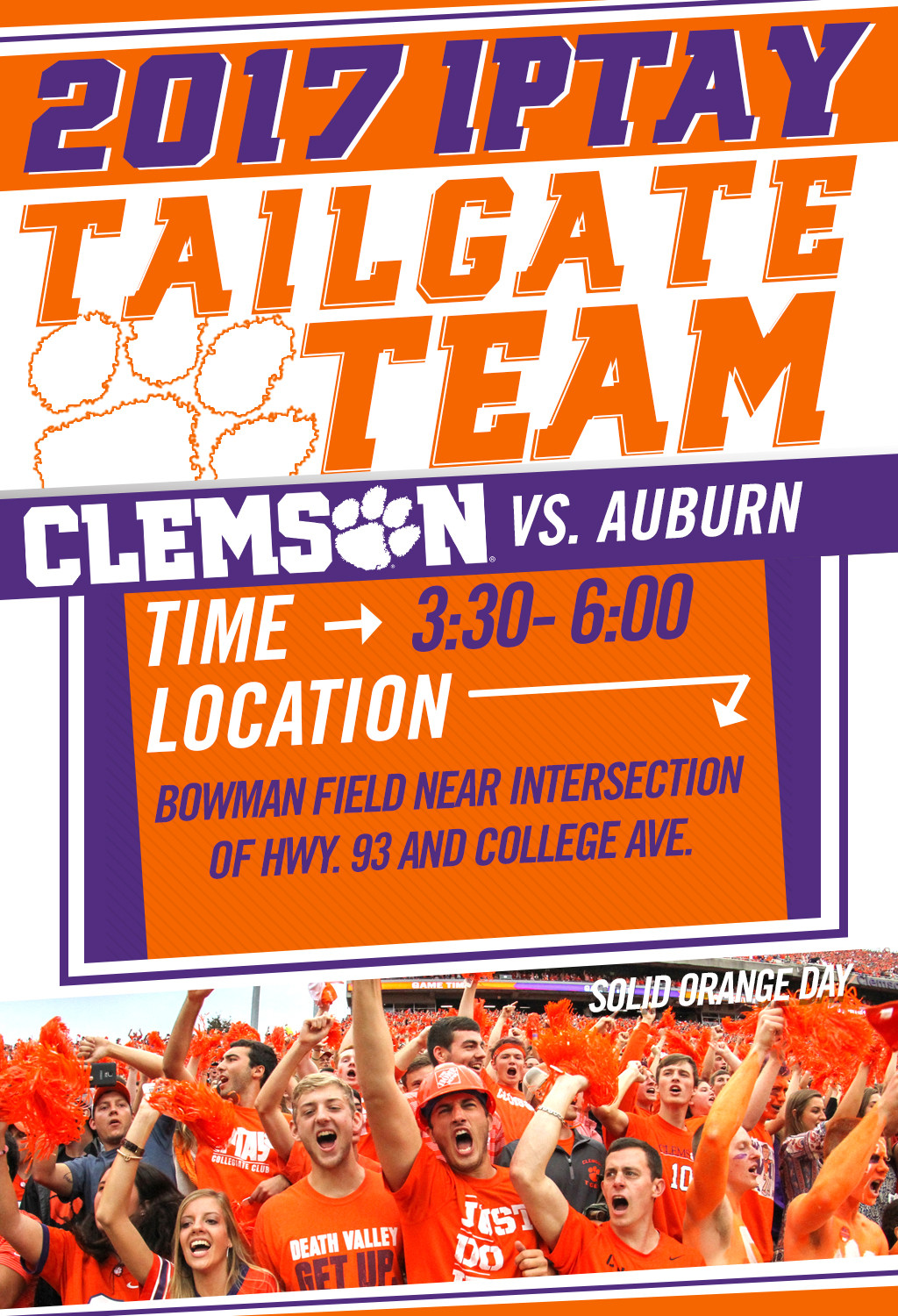 Tailgate Team Heads East For Primetime ACC/SEC Match-up