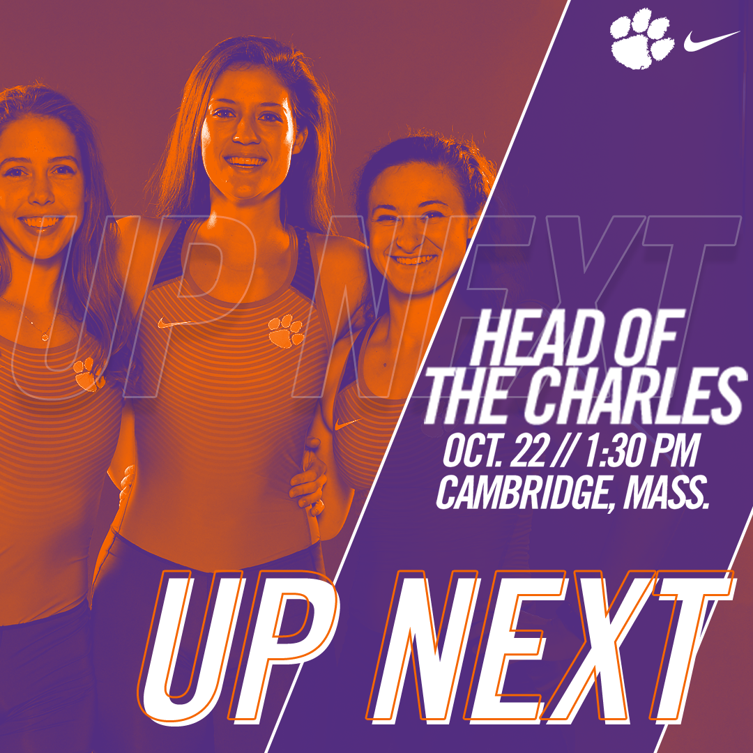 Clemson to Race in Head of the Charles on Sunday