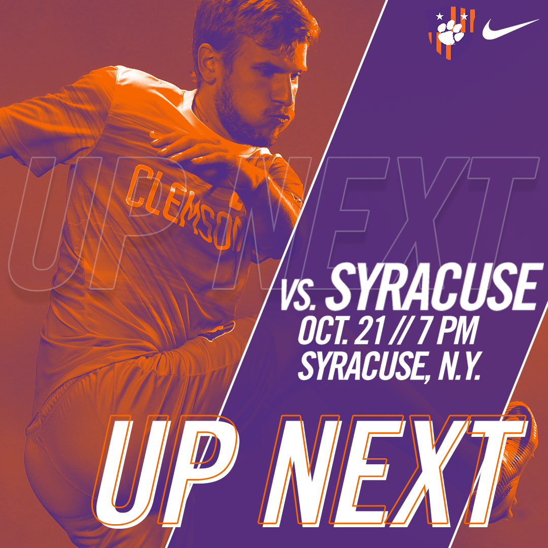 715efa744 No. 7 Clemson Faces Syracuse on Saturday – Clemson Tigers Official ...