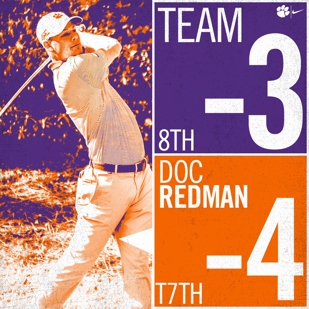 Redman Leads Tigers with 67