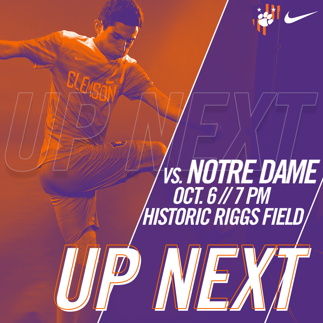 No. 5 Clemson Hosts No. 9 Notre Dame in Top-10 Matchup