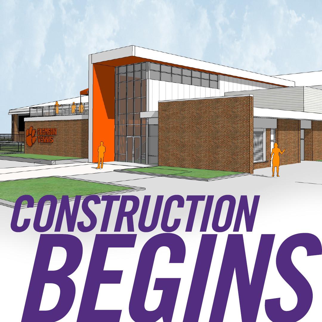 Tennis Center Construction Set to Begin