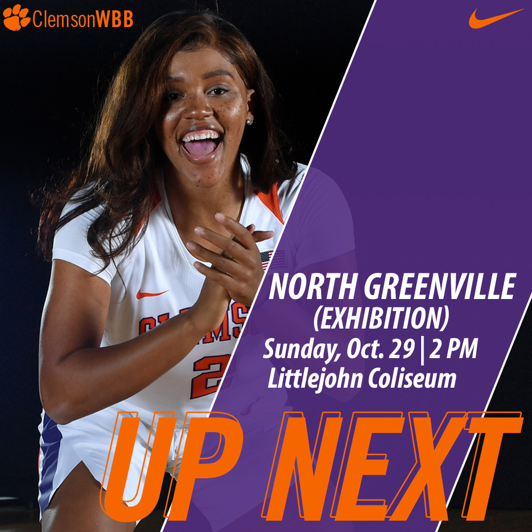 Tigers Host North Greenville in Exhibition Sunday at Littlejohn