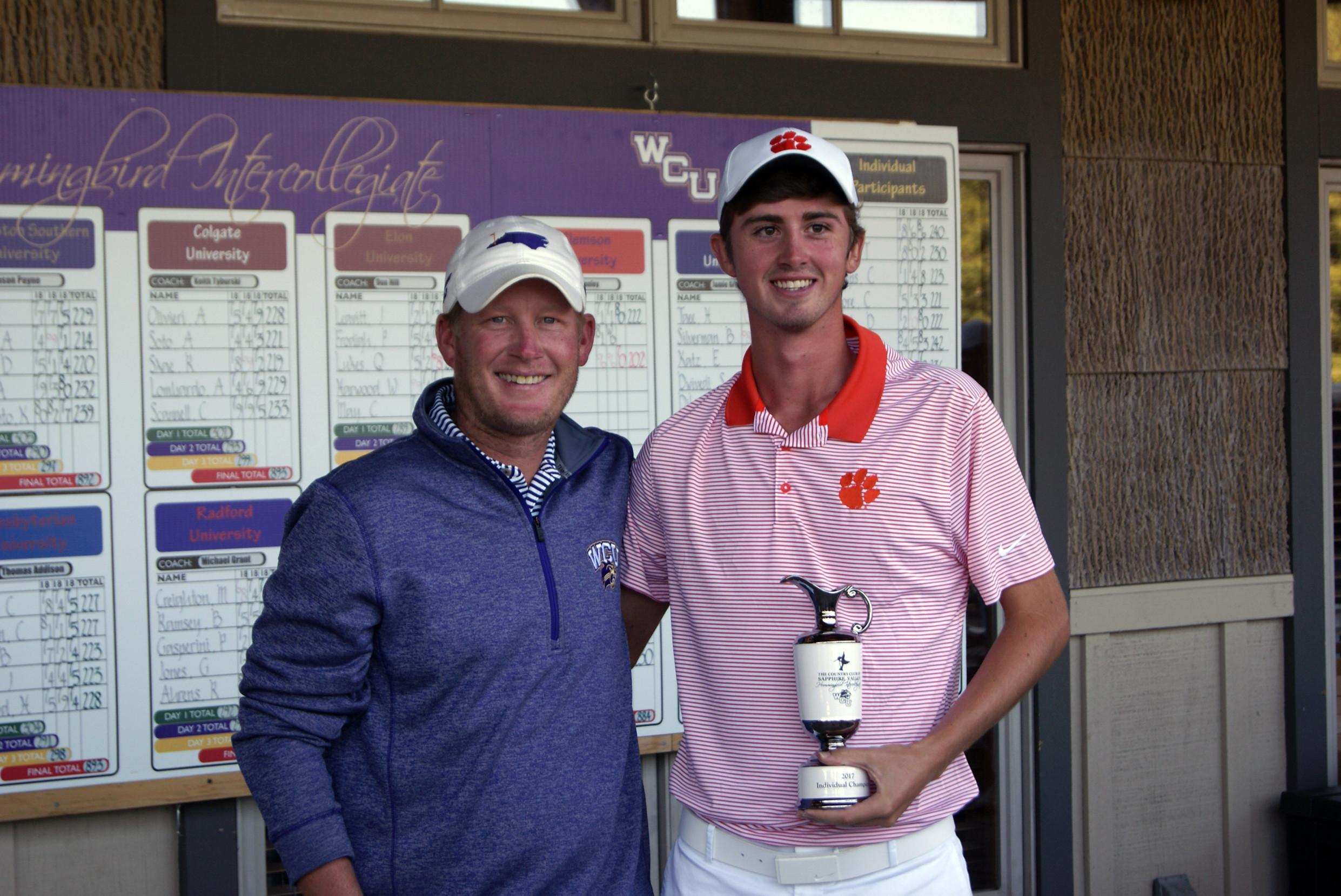 Patton Wins Hummingbird Invitational