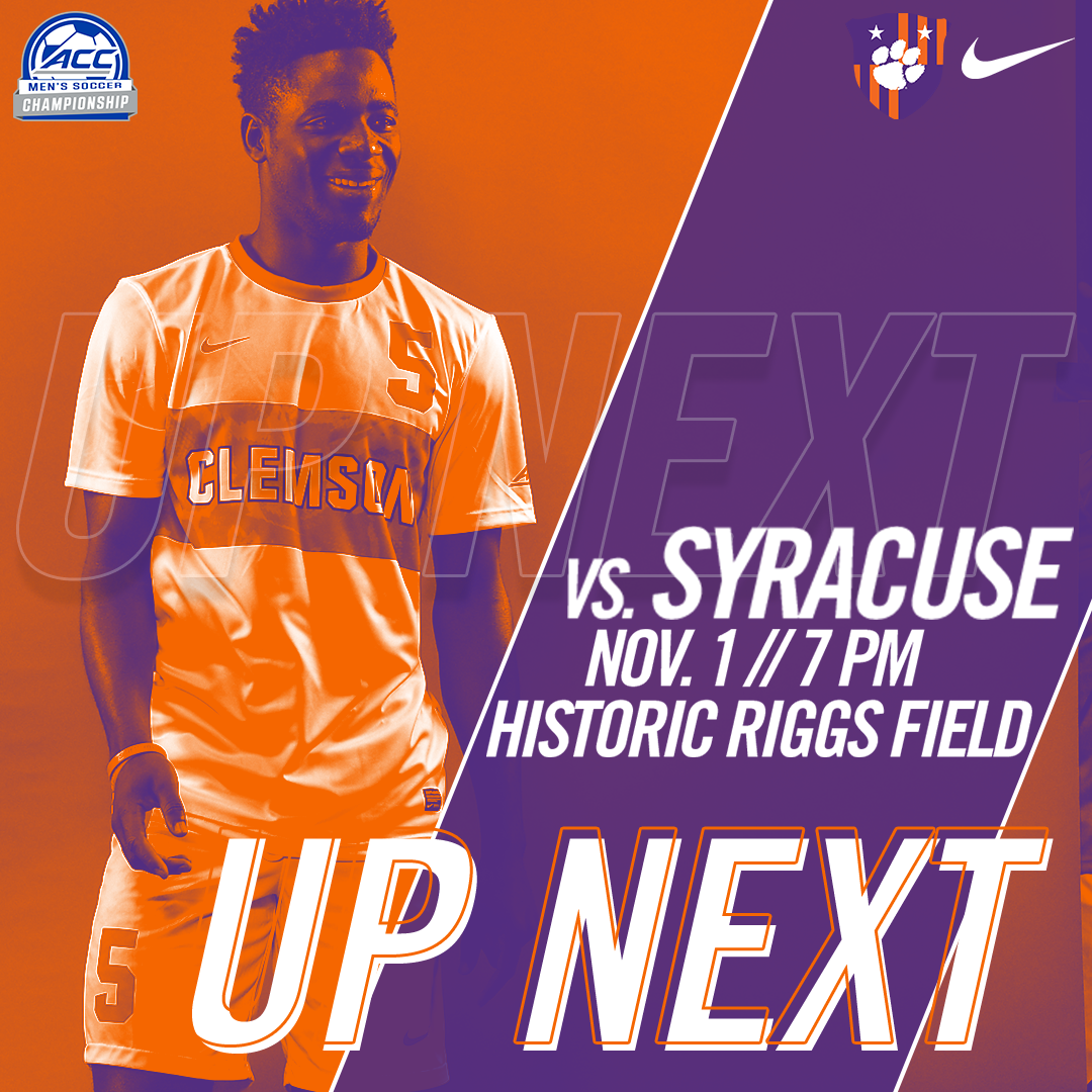 No. 5-Seed Clemson Hosts No. 12-Seed Syracuse in ACC Tournament First Round