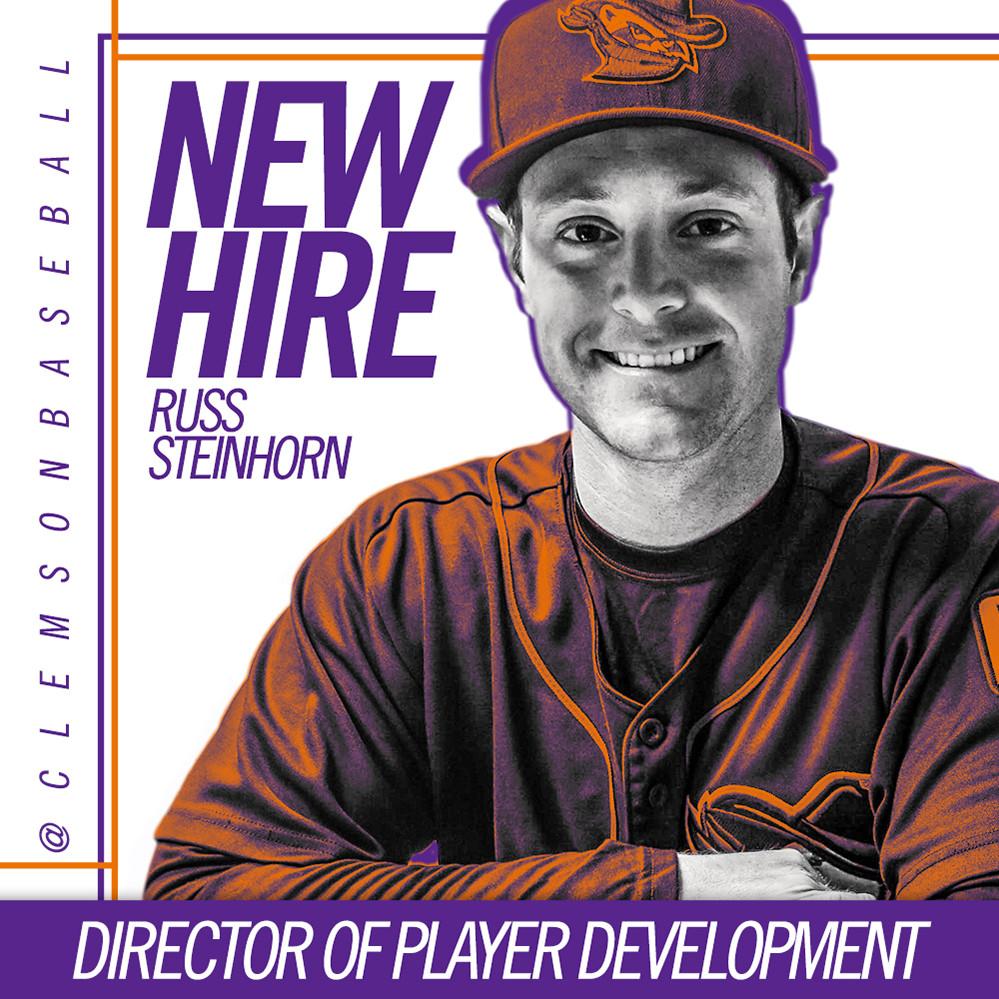Steinhorn Joins Baseball Staff