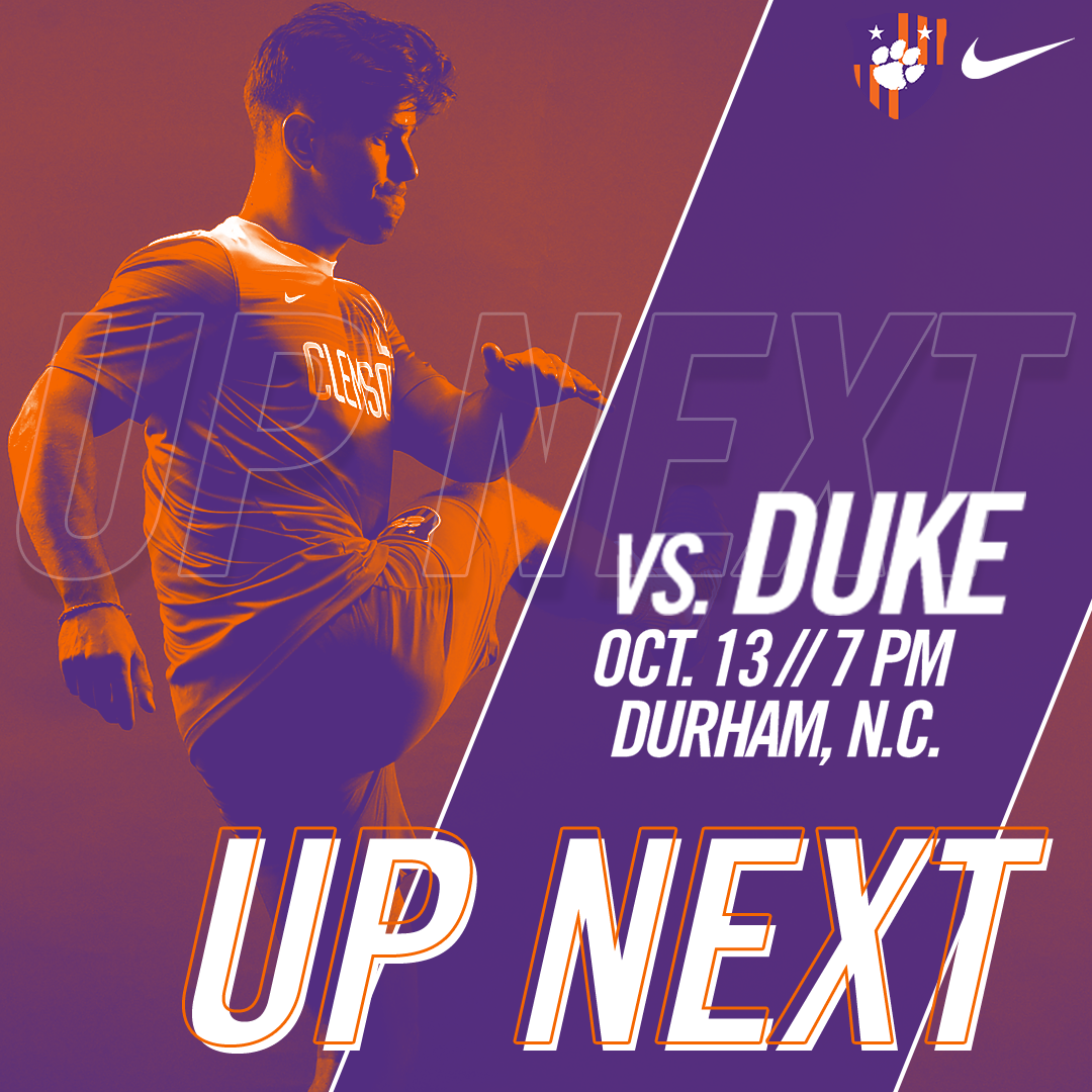 No. 11 Clemson Travels to No. 16 Duke on Friday