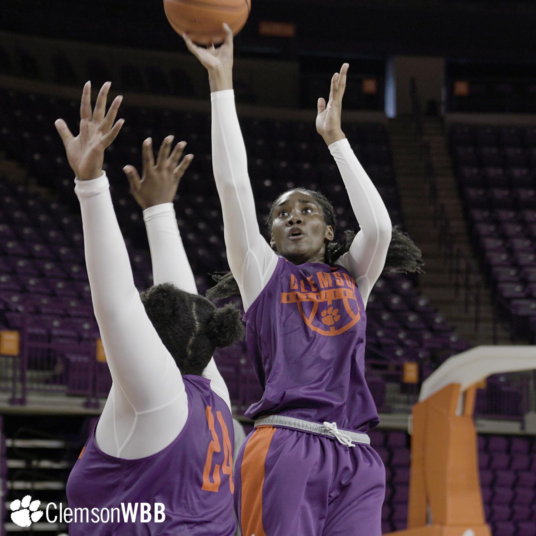 Clemson Women's Basketball Opens Practice