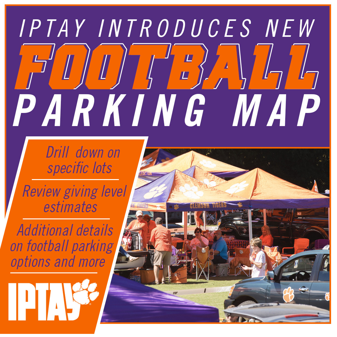 IPTAY Introduces New Football Parking Map