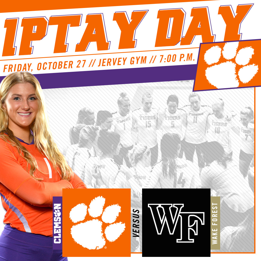 Join Us For IPTAY Night At Clemson Volleyball!